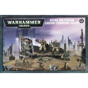 Games Workshop Warhammer 40k: Cadian Command Squad