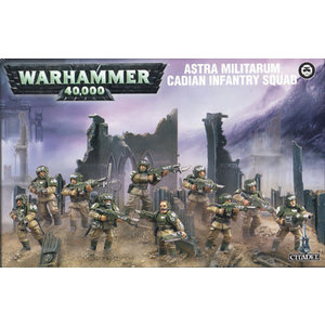 Games Workshop Warhammer 40k: Astra Militarum: Cadian Infantry Squad