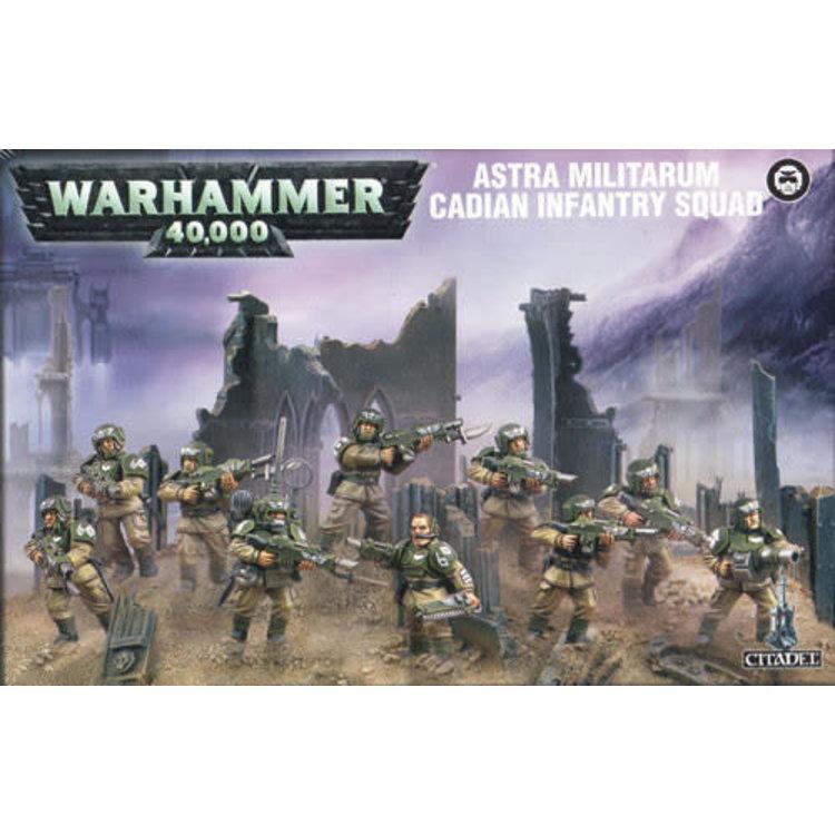 Games Workshop Warhammer 40k: Astra Militarum: Cadian Infantry Squad