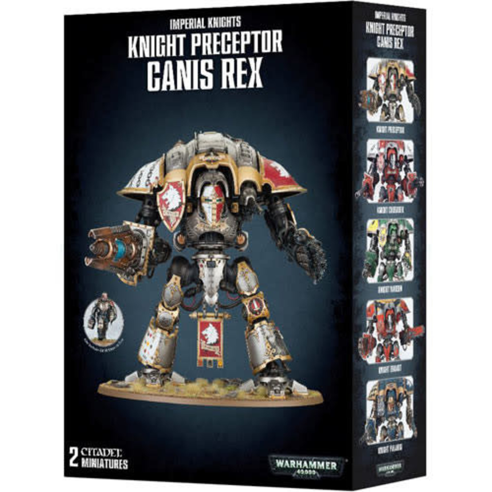 Games Workshop Warhammer 40k: Knight Preceptor Canis Rex