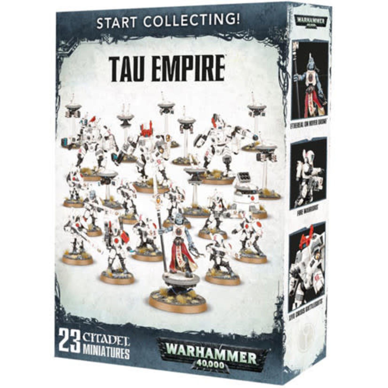 Games Workshop Warhammer 40k: Start Collecting!  Tau Empire