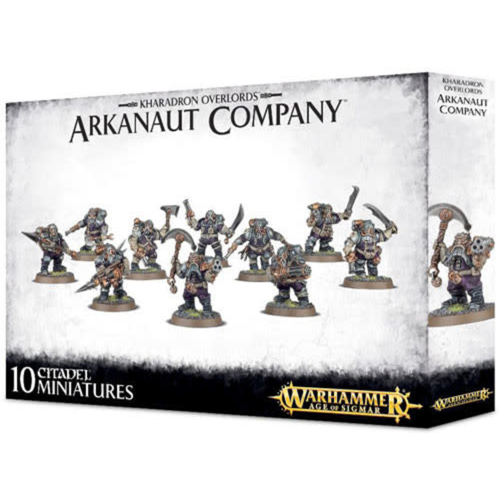 Games Workshop Warhammer Age of Sigmar: Kharadron Overlords: Arkanaut Company