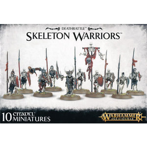 Games Workshop Warhammer Age of Sigmar: Deathrattle: Skeleton Warriors