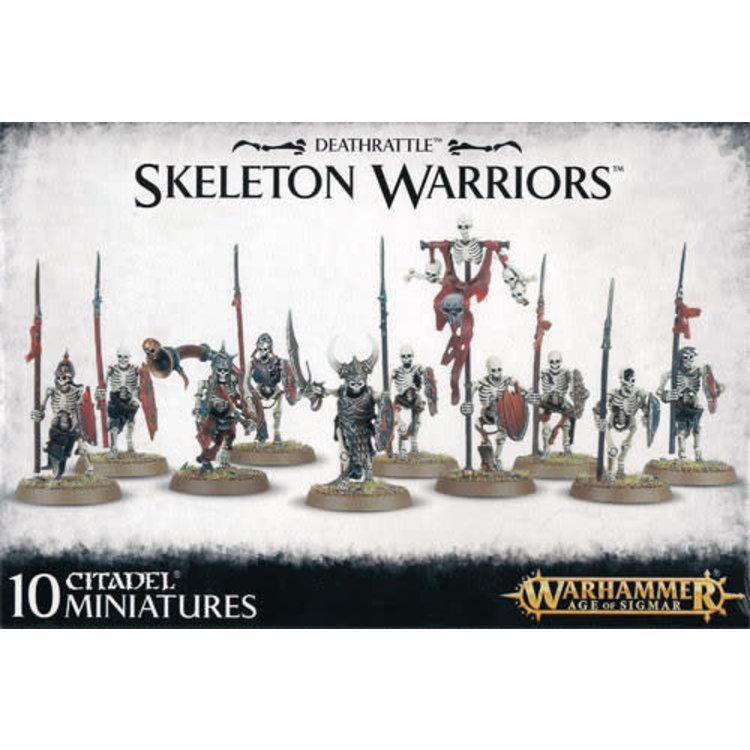 Games Workshop Warhammer Age of Sigmar: Deathrattle: Skeleton Warriors