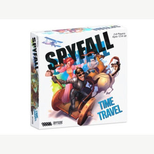 Cryptozoic Spyfall : Time Travel