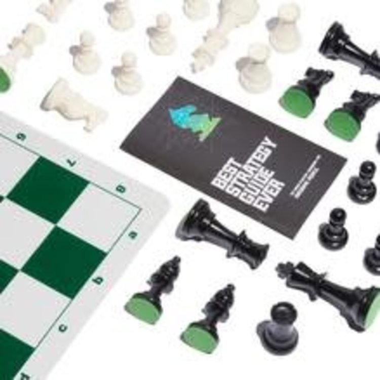 Best Chess Set Ever - Green