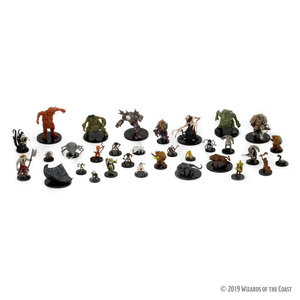 Wizards of the Coast Dungeons and Dragons Icons of Realms Volo & Mordenkainen's  Booster Brick (8)