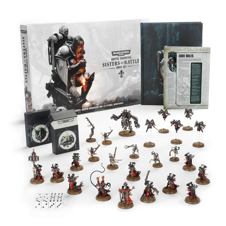 Games Workshop Warhammer 40k: Adepta Sororitas: Sisters of Battle Army Set