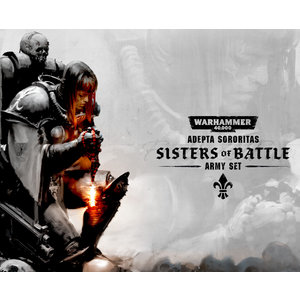 Games Workshop Adepta Sororitas: Sisters of Battle Army Set
