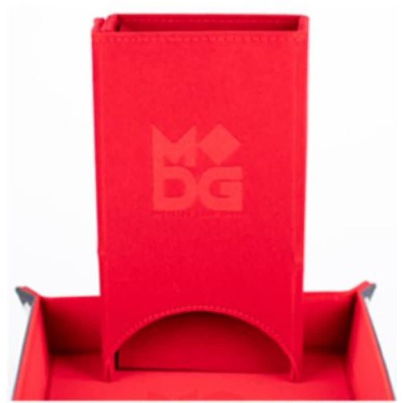Metallic Dice Games Metallic Dice Games Velvet Dice Tower: Red