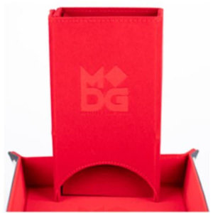 Metallic Dice Games Metallic Dice Games Velvet Dice Tower: Red