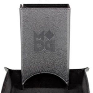 Metallic Dice Games Metallic Dice Games Velvet Dice Tower: Black