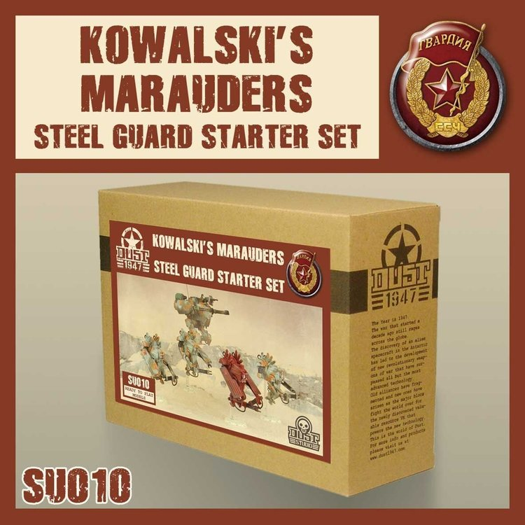 Dust Dust 1947: Steel Guard Starter - Kowalski's Marauders