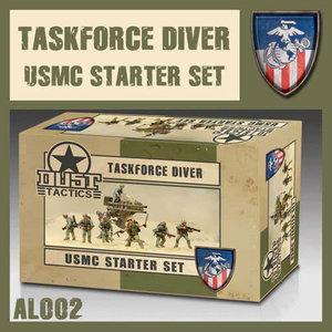 Dust Dust 1947: USMC Starter - Taskforce Diver