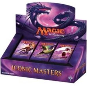 Wizards of the Coast Magic the Gathering: Iconic Masters Booster Box