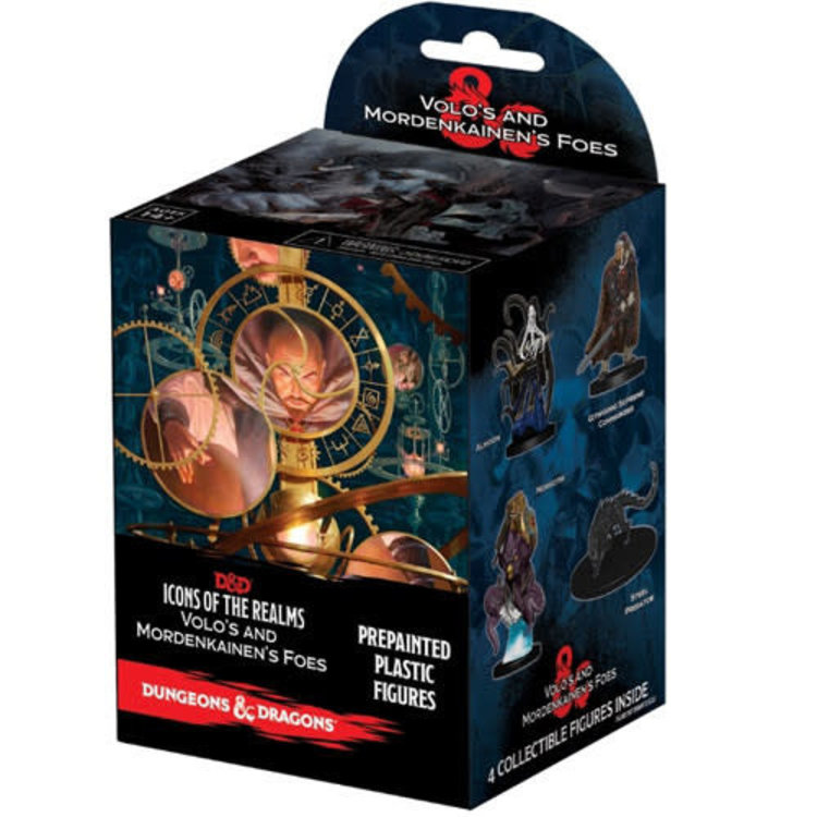 WizKids Dungeons and Dragons Icons of Realms Volo & Mordenkainen's  Booster Pack