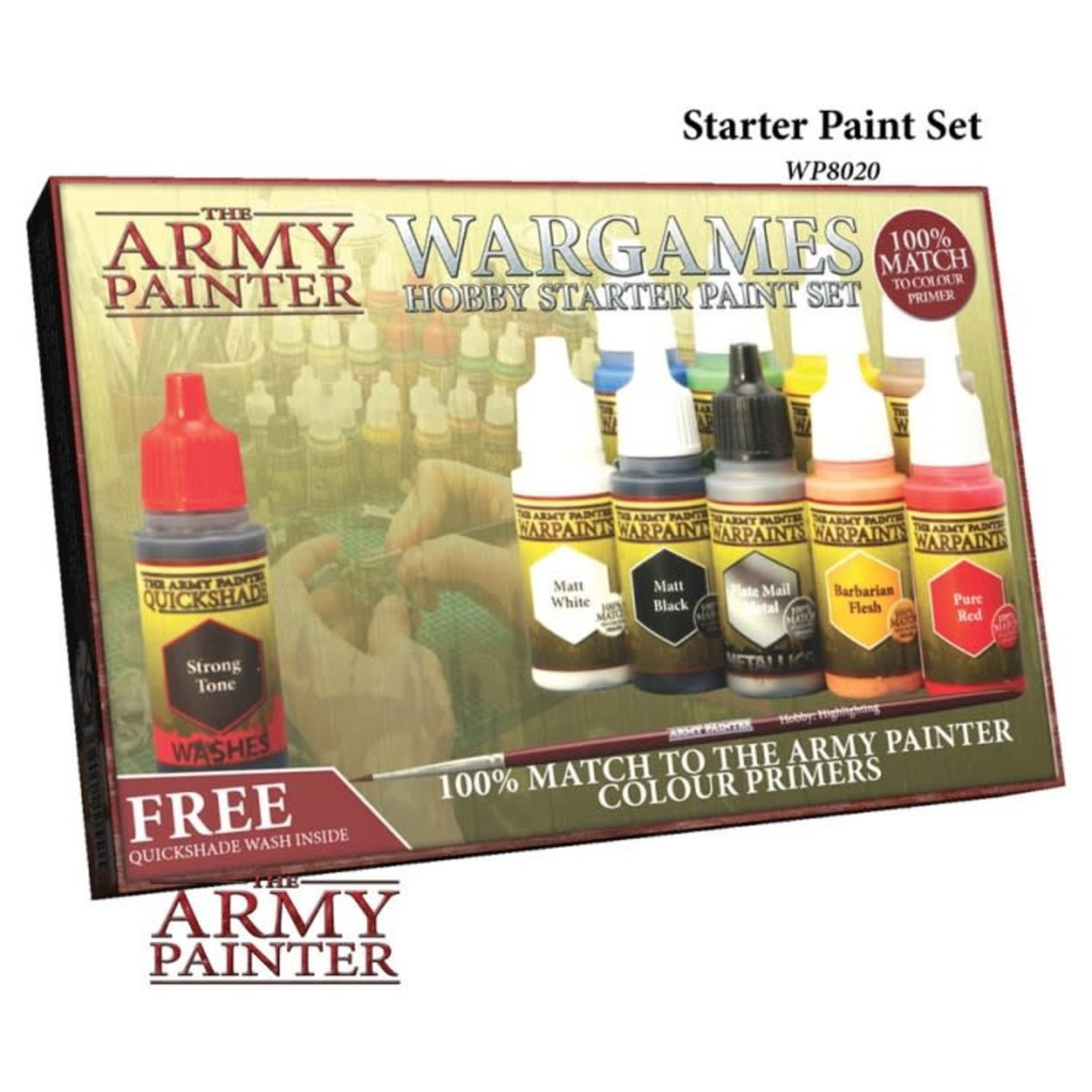 The Army Painter The Army Painter: Warpaints Starter Paint Set