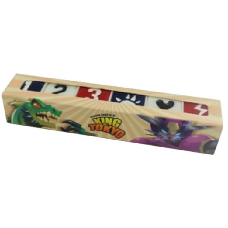 Iello King of Tokyo: US National Dice