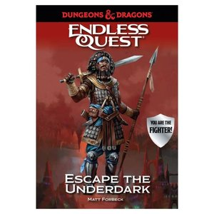 Random House Dungeons & Dragons: Endless Quest - Escape the Underdark