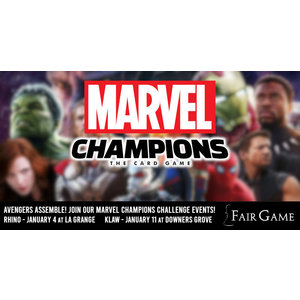Admission: Marvel Champions Learn to Play & Challenge Event (Downers Grove / January 11)