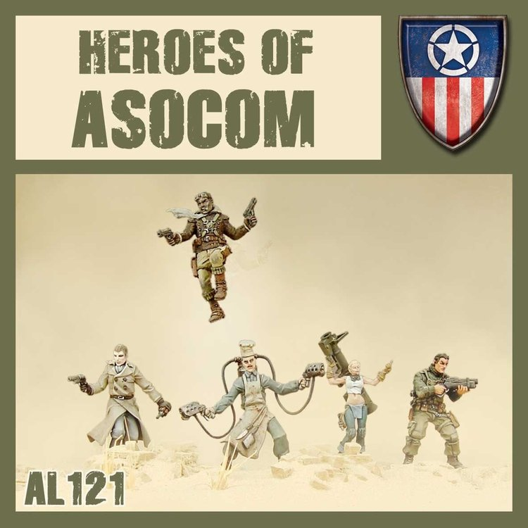 Dust Dust 1947 : Heroes of ASOCOM
