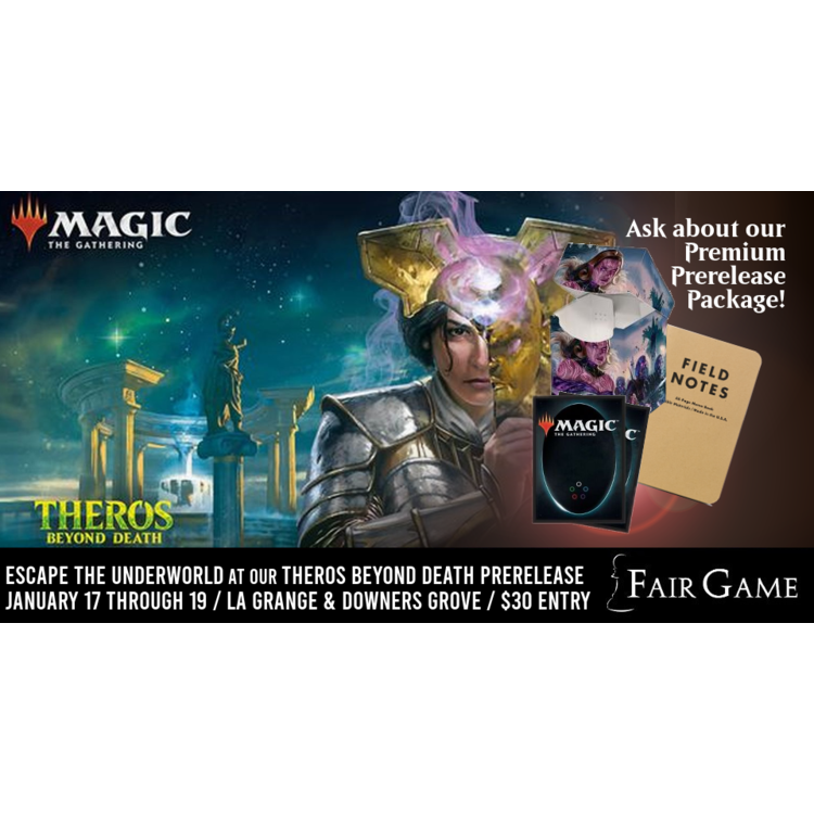 Wizards of the Coast Admission: Theros Beyond Death Prerelease - Noon Two-Headed Giant (Downers Grove Jan 18)