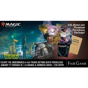 Wizards of the Coast Admission: Theros Beyond Death Prerelease - Evening Two-Headed Giant (Downers Grove Jan 19)