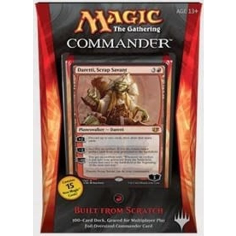 Wizards of the Coast MTG Commander 2014: Built from Scratch (Red)
