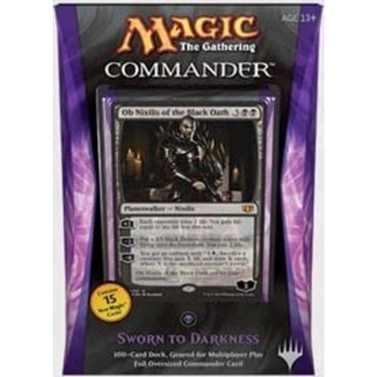 Wizards of the Coast MTG Commander 2014: Sworn to Darkness (Black)