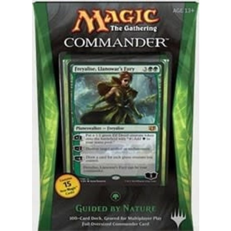 Wizards of the Coast MTG Commander 2014: Guided by Nature (Green)