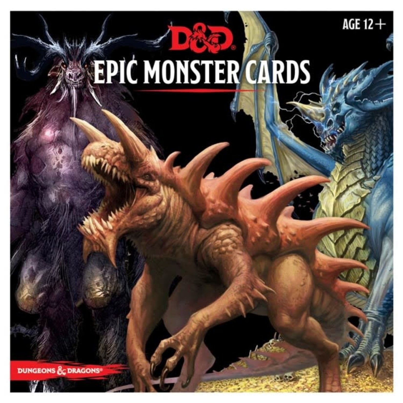 GaleForce9 Dungeons and Dragons 5th Edition: Monster Cards - Epic Monsters
