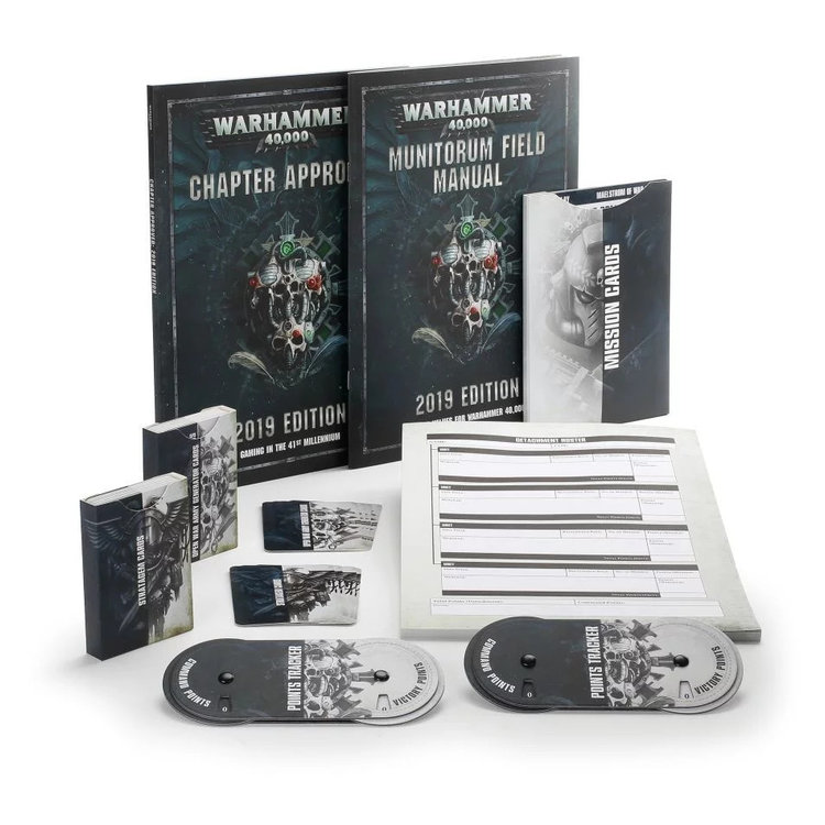 Games Workshop Warhammer 40,000 Chapter Approved 2019 WARLORD Edition
