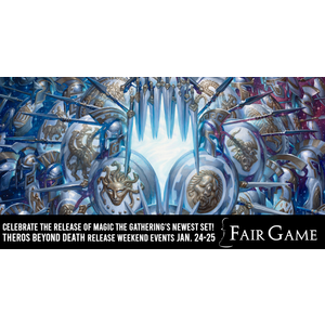 Wizards of the Coast Admission: Theros Beyond Death Release Event Draft 12 PM (La Grange January 25)