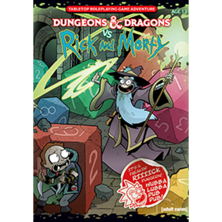 Wizards of the Coast Dungeons and Dragons 5th Edition: DnD vs. Rick and Morty RPG