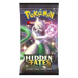 Pokemon International Pokemon Tading Card Game: Hidden Fates Booster Pack