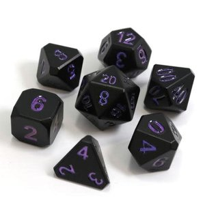 Die Hard Dice Die Hard Dice: Polyhedral Metal Dice Set - Forge Nightshade