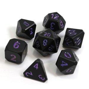 Die Hard Dice Die Hard Dice: Polyhedral Metal Dice Set - Forge Nightshade