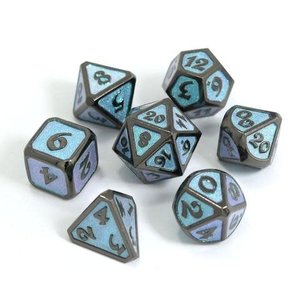 Die Hard Dice Die Hard Dice: Polyhedral Metal Dice Set - Dreamscape Winter's Embrace