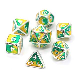 Die Hard Dice Die Hard Dice: Polyhedral Metal Dice Set - Spellbinder Basilisk
