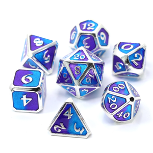 Die Hard Dice Die Hard Dice: Polyhedral Metal Dice Set - Spellbinder Nightfall  11 Pc Set