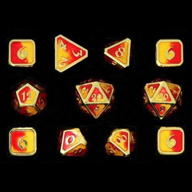 Die Hard Dice Die Hard Dice: Polyhedral Metal Dice Set - Spellbinder Phoenix 11 Pc Set