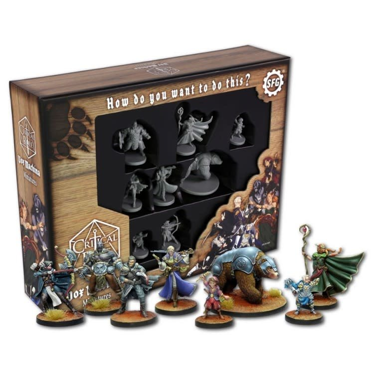 Steamforged Critical Role: Vox Machina Miniatures