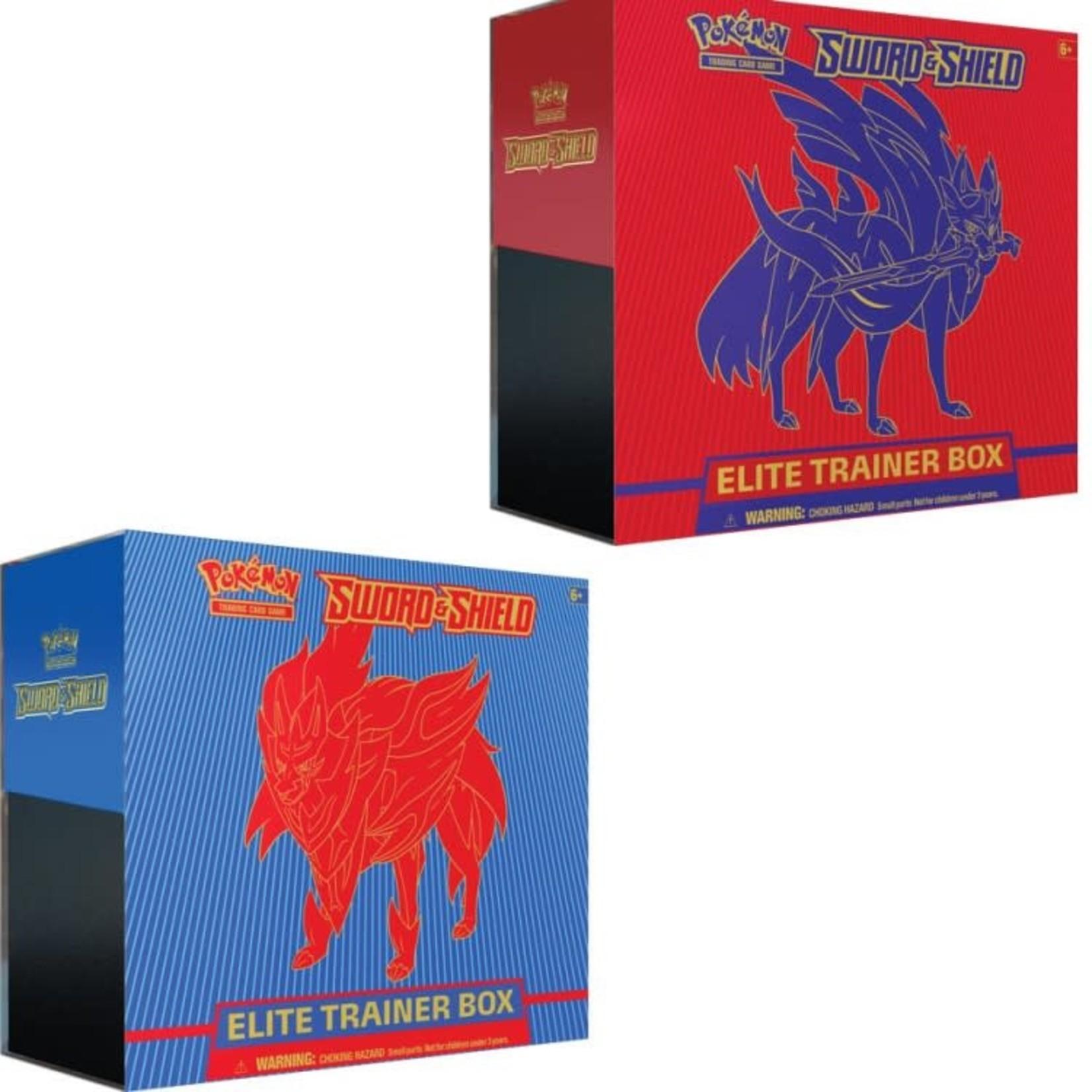 Pokemon International Pokemon Training Card Game: Sword and Shield Elite Trainer Box