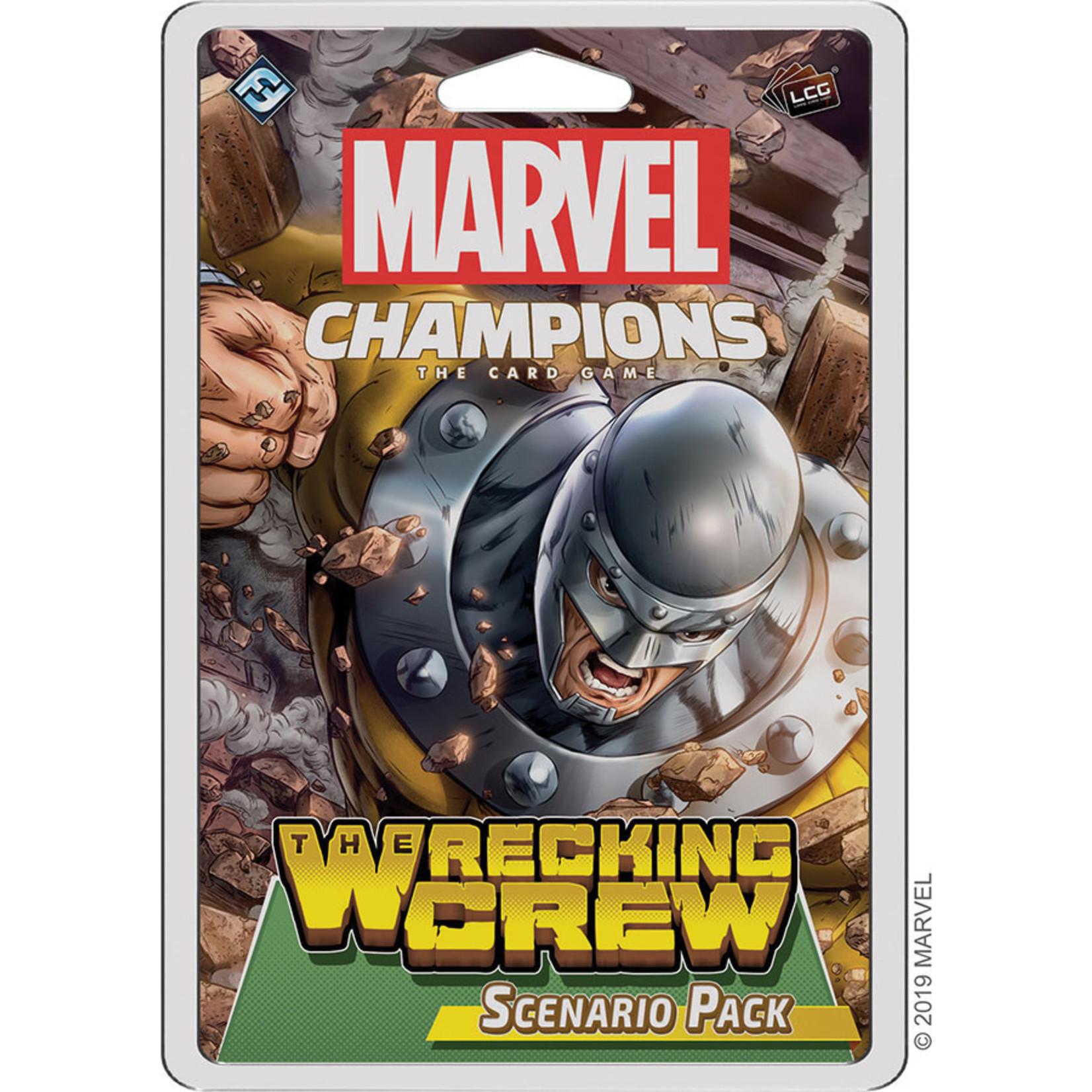 Fantasy Flight Games Marvel Champions Living Card Game: The Wrecking Crew Scenario Pack