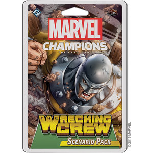 Fantasy Flight Games Marvel Champions Living Card Game: The Wrecking Crew Scenario Pack