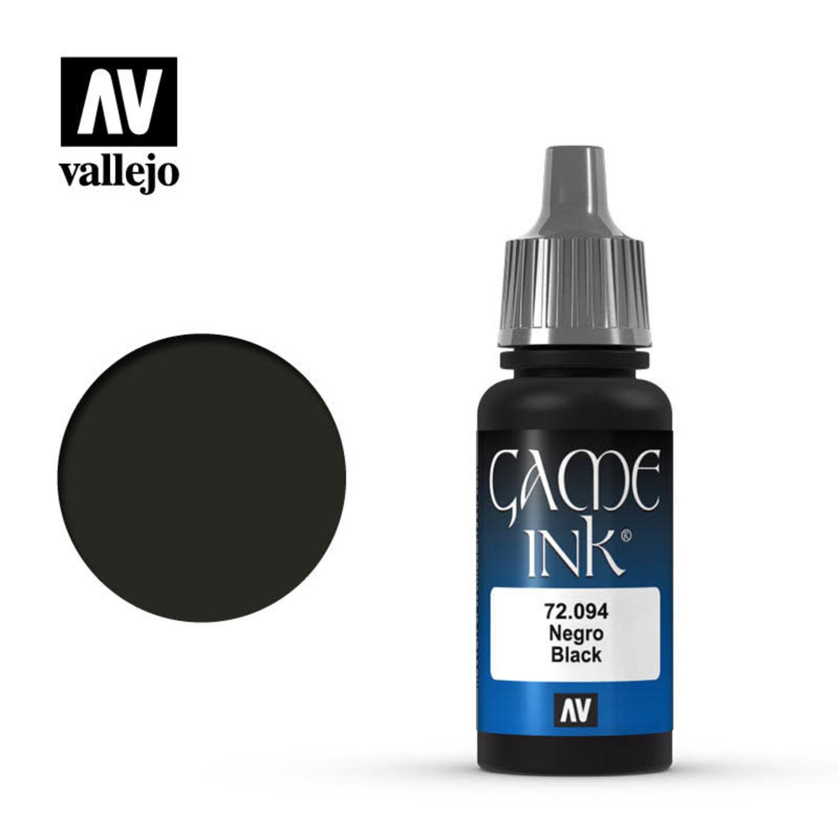 Vallejo Vallejo: Game Color: Black Ink