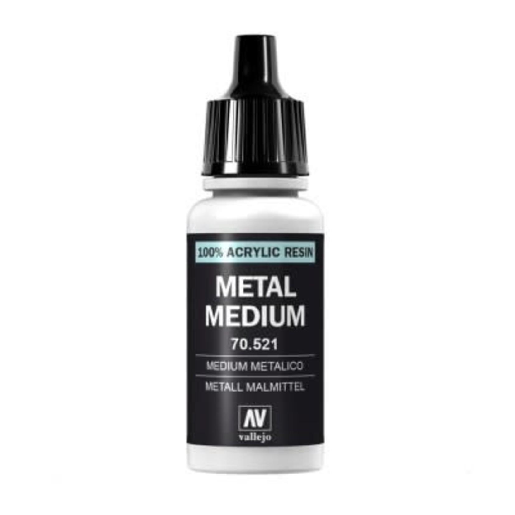 Vallejo Vallejo: Auxiliary: Metal Medium