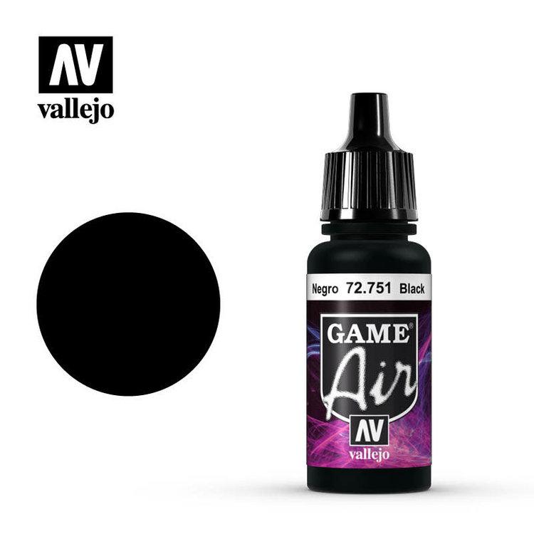 Vallejo Vallejo: Game Air: Black