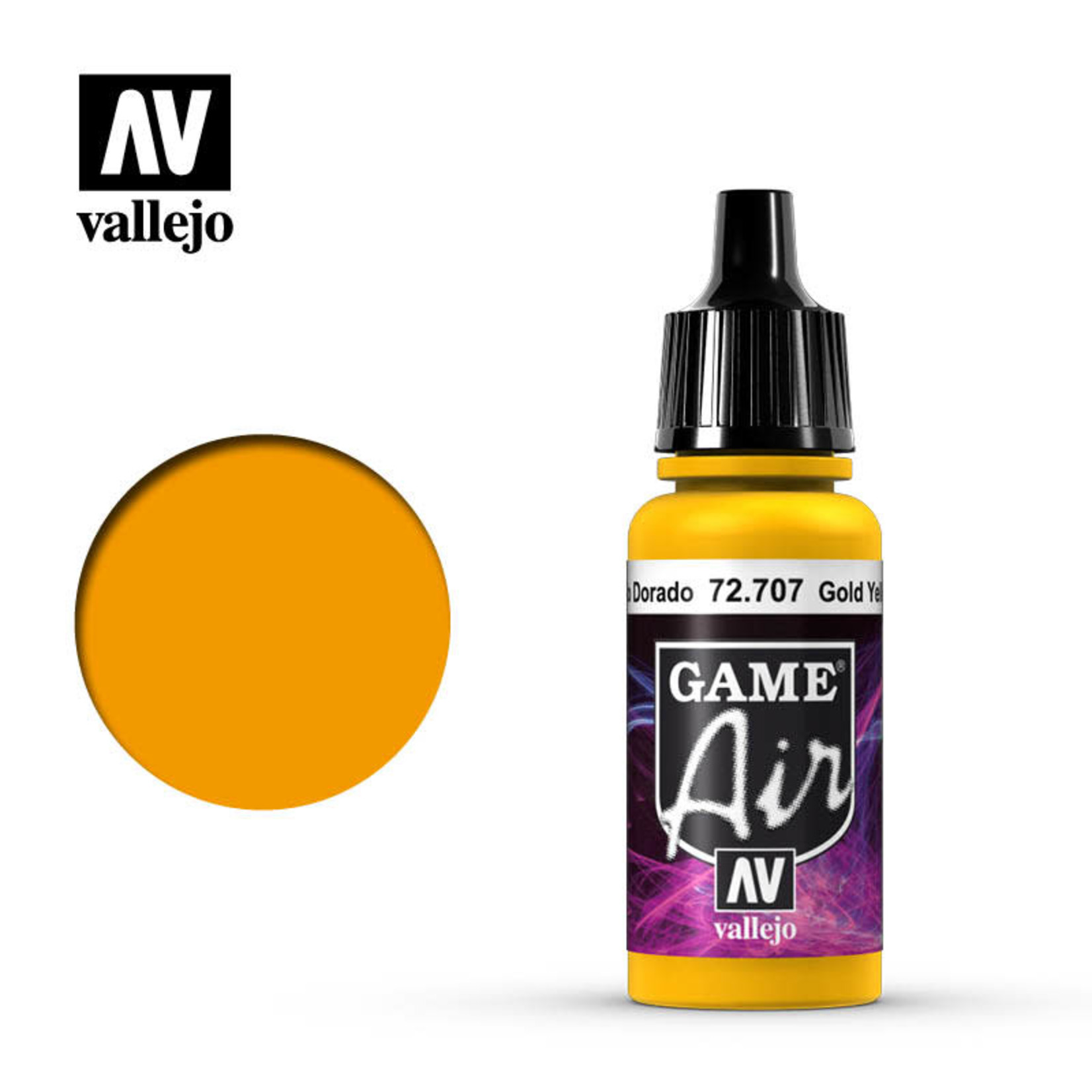Vallejo Vallejo: Game Air: Gold Yellow