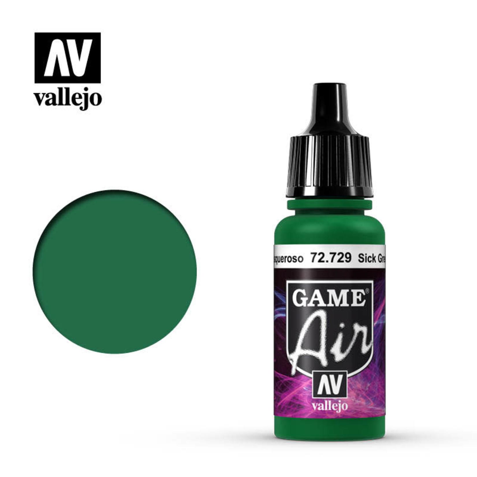 Vallejo Vallejo: Game Air: Sick Green
